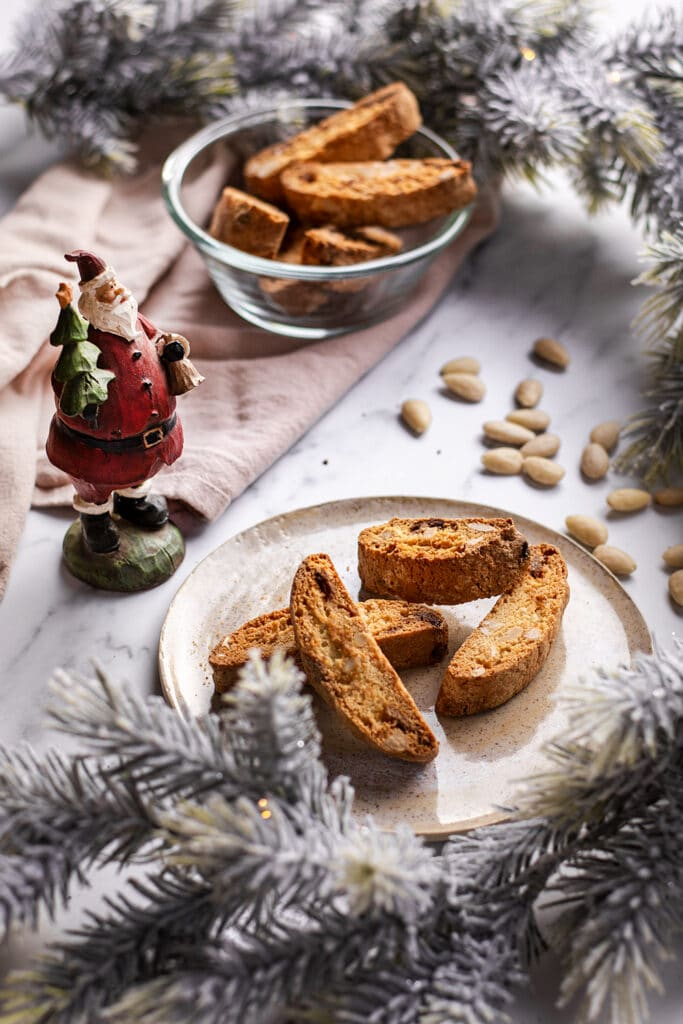 Biscotti in kerstsfeer :)